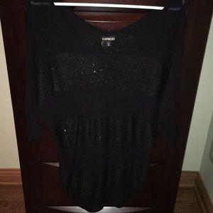 Black light weight sweater